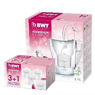 德國倍世BWT 鎂離子健康壺超值組(粉)