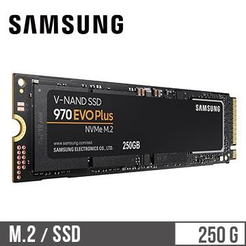 SAMSUNG三星 970 EVO Plus M.2 250G 固態硬碟