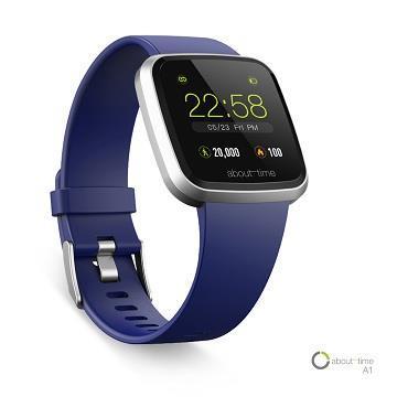 About Time A1健康智慧手錶-海軍藍