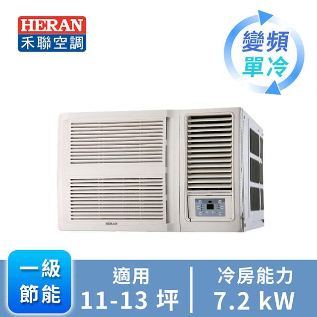 HERAN R32 窗型變頻單冷空調HW-GL72