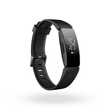 Fitbit Inspire HR 智能健身手環-黑