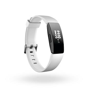 Fitbit Inspire HR 智能健身手環-黑框白