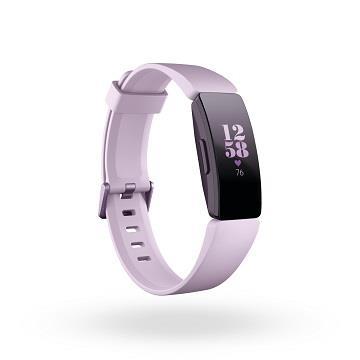Fitbit Inspire HR 智能健身手環-淺紫粉