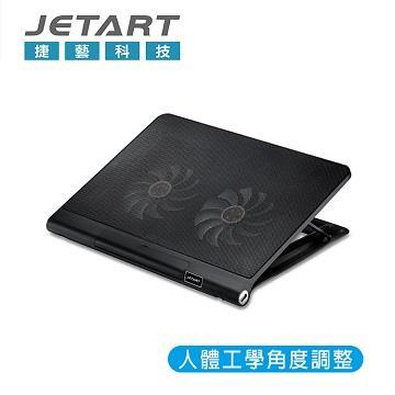 JETART CoolStand T1 人體工學筆電散熱器