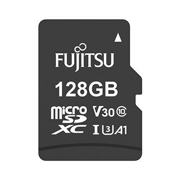 Fujitsu MicroSD U3 A1 128G記憶卡-含轉卡