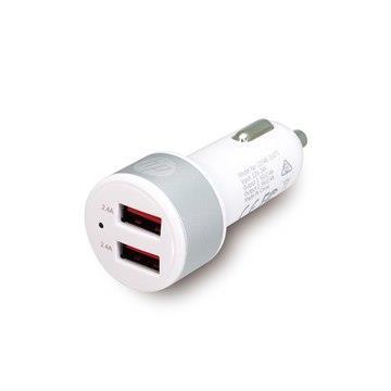 HP 雙USB4.8A快速車用充電器-黑