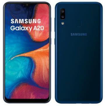 SAMSUNG Galaxy A20 藍