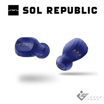 Sol Republic Amps Air2.0 真無線耳機-藍