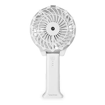 Esense 噴霧型加濕USB風扇-白