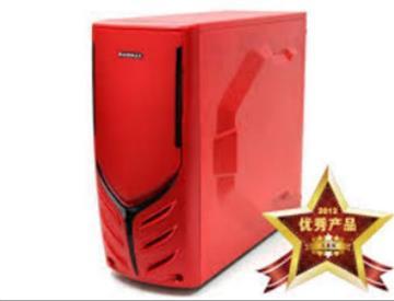 微星平台 [疾風迅雷]i5六核GTX1050TI主機-紅