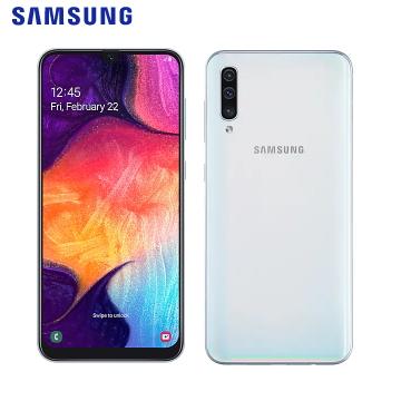 SAMSUNG Galaxy A50 幻彩白