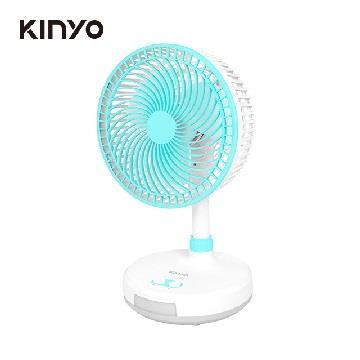 KINYO 8吋充電風扇