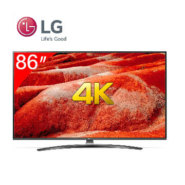 LG 86型IPS 廣角4K 物聯網電視