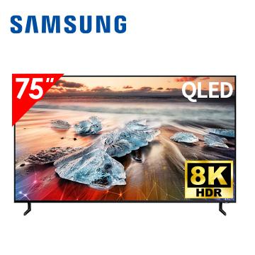 (展示機)三星SAMSUNG 75型 8K QLED 智慧連網電視