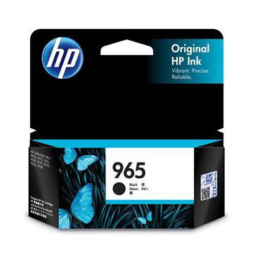惠普HP 965 黑色原廠墨水匣 3JA80AA