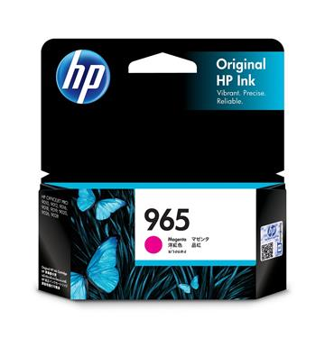 (福利品)惠普HP 965 洋紅色原廠墨水匣