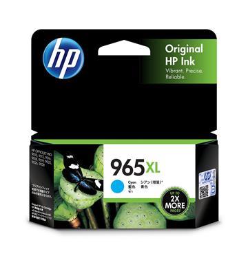 惠普HP 965XL 藍色原廠墨水匣 3JA81AA