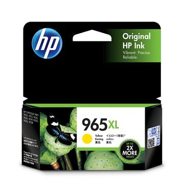 HP 965XL 黃色原廠墨水匣
