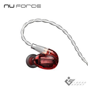 NuForce HEM1 動鐵單元監聽式耳機-紅色