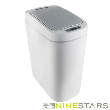 美國NINESTARS 7公升防水感應垃圾桶
