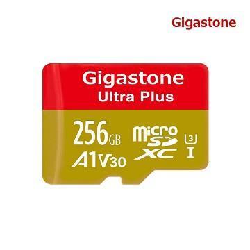 Gigastone MicroSD V30 256G記憶卡-含轉卡