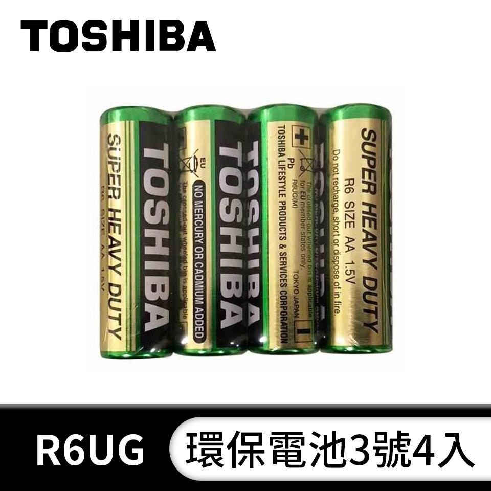 東芝TOSHIBA 環保3號電池4入