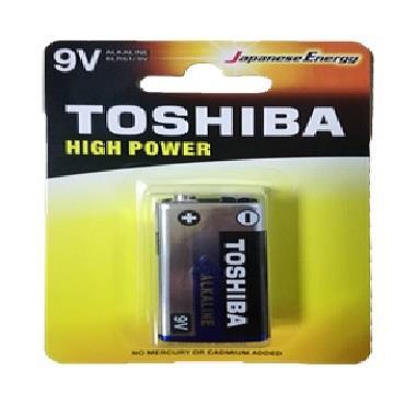 東芝鹼性9V電池-1入卡 6LR61GCP
