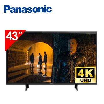 (福利品)國際牌Panasonic 43型 六原色 4K 智慧聯網顯示器