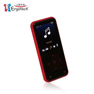 人因行動鈦郎UC530CR 8G(黑紅)MP4