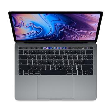 """13.3""""MacBookPro with TouchBar 2.4G(4核)/8G/256G/IIPG655/灰"""