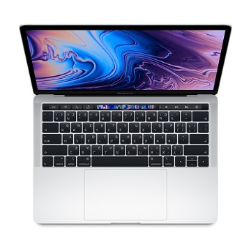 """13.3""""MacBookPro with TouchBar 2.4G(4核)/8G/512G/IIPG655/銀"""