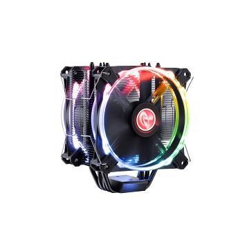 RAIJINTEK LETO PRO RGB 雙風扇塔式散熱器 RA-LETOPRORGB