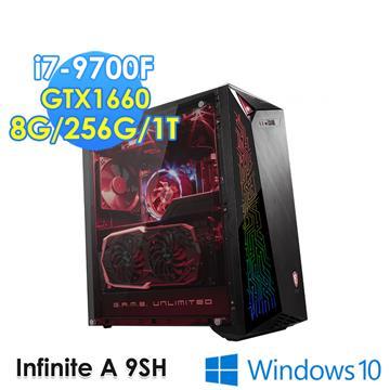msi微星 Infinite A 電競電腦(i7-9700F/GTX1660/8GD4/W10)
