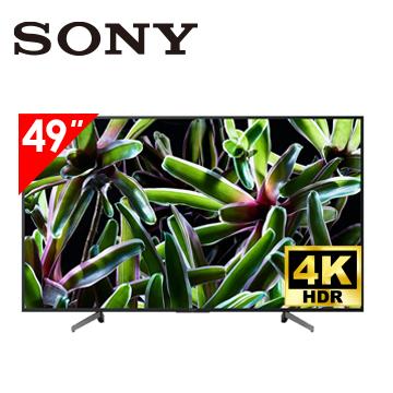 SONY 49型4K智慧連網電視