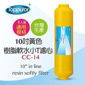 泰浦樂 10吋黃色樹脂小T濾心