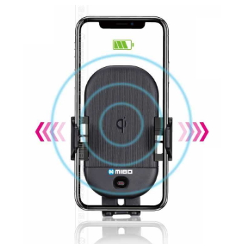 MIBO 智能Qi全自動無線充電手機支架