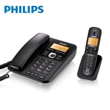 飛利浦PHILIPS 2.4GHz子母機數位無線電話