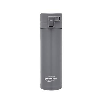 凱菲480ml不銹鋼真空保溫瓶-鋼鐵灰