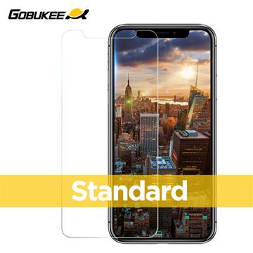 Gobukee iPhone XS 全透標準版玻璃保貼
