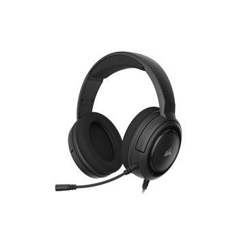 CORSAIR HS35 STEREO電競耳機-碳纖黑