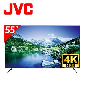 JVC 55型4K HDR無邊框連網LED液晶顯示器