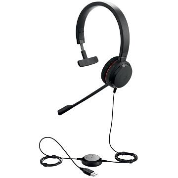 Jabra Evolve 20被動式降噪耳機