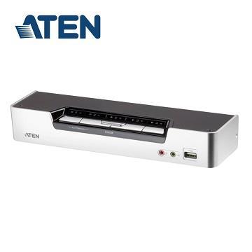 ATEN 4埠USB KVMP多電腦切換器