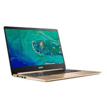 ACER SF114-金 14吋筆電( N4100/4G/256GB SSD/1.4KG)