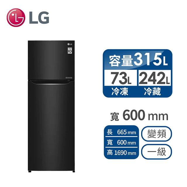 樂金LG 315公升 上下門變頻冰箱