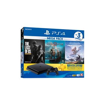 PS4 MEGA PACK Bundle 同捆組