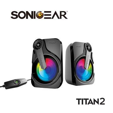 SONICGEAR TITAN2炫彩USB 2.0多媒體音箱