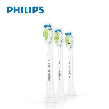 飛利浦Philips 智能鑽石刷頭(3入/白)5盒 HX6063/67(5盒)
