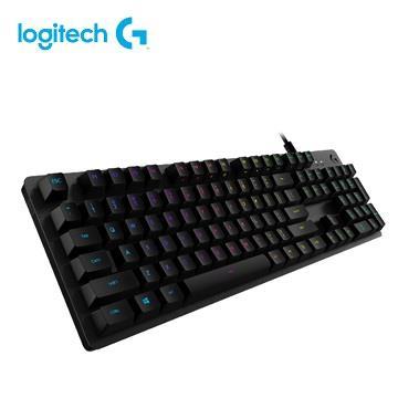羅技 G512 RGB機械式遊戲鍵盤-青軸
