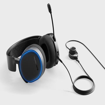 SteelSeries Arctis 5耳麥-黑